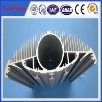 High power led aluminum extrusion heat sink Manufactures