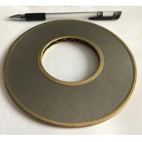 100 Micron 304 316 Stainless Steel Wire Mesh Filter Element 152mm Diameter Manufactures