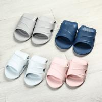 Anti Slip Flat Foldable Flip Flops Home Slippers Slides Apply To Shower Manufactures