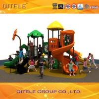 Qitele kids customized commercial playground equipment for shcool Manufactures