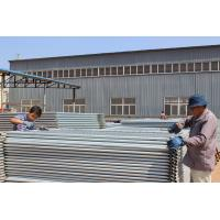 Hot Dipped Galvanized In Zinc Bath Temporary Security Fencing Panels 2100mm*2400mm Melbourne AS4687-2007 Manufactures