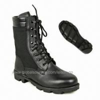 Safety Military Boots in Various Sizes, Made of Cowhide Full Grain Leather and Cordura Manufactures