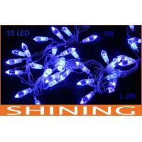 1.2m High Bright Battery LED String Light , Holiday Decorative Lighting Manufactures