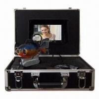 Underwater Camera, 600TVL CCD with 7-inch Built-In TFT Display, AVI for Up to 8GB Recording Format Manufactures