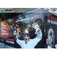 Entertainment Equipment Type Of 7d Movie Theater , Mobile Cinema , Flexible Cabin Manufactures