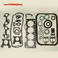 For TOYOTA COROLLA CORSA TERCEL Engine 3E 3EE Automotive Spare Parts Full Set Engine Parts Engine Gasket 04111-11054 Manufactures