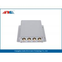 Medium Power Square RFID Reader RS232 , Four Channels RFID Antenna Reader Manufactures