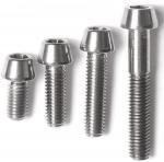 DIN titanium screws /bolts and nuts/wheels bolts titanium ti 6al 4v/motorcycle equip Manufactures