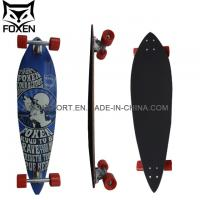 Specific Shape 38*9.75inch with OS780 Griptape Canadian Maple Skateboard Ld-170 Manufactures
