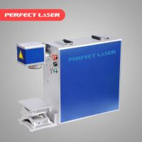 Stainless Steel Laser Marking Machine Air Cooling With Ez - Card Control Software Manufactures