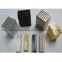 N35 Custom Neodymium Magnets Worked With NI ZN Gold Black Epoxy Coating Manufactures