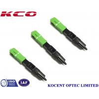 SCAPC Fiber Fast Connector Quick Assembly FTTH GPON EPON Low Insertion Loss 3D Manufactures