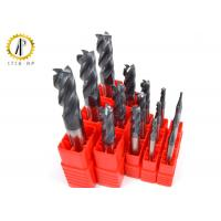 China Side Face Tungsten Carbide Cutting Tools Flat Metal Cutting End Mills 90° Angle on sale