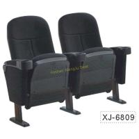China Foldable Church Cinema Home Theater Seating Chairs With Flame Retardant Fabric on sale