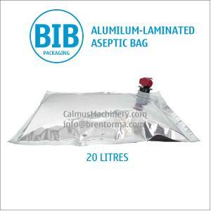 China Food-Grade 20 Litre BIB Aseptic Bag 20L Bag-in-Box Packaging Bag on sale