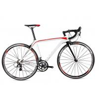 China OEM Super road bike bicycle aluminum 6061 frame and rim racing bike with carbon fork on sale