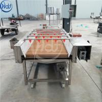 Commercial Brush Root Vegetable Washing Machine For Bamboo Shoots / Mushrooms Manufactures