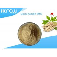 Solvent Extraction Natural Plant Ginsenoside / 50% Panax C.A. Meyer Ginseng Powder Manufactures