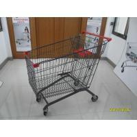 China Zinc Plating 270L shopping cart  With safety baby seat Popular In European on sale