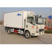 7T Refrigerated Transport Trucks, Refrigerated Delivery Truck With 140HP Engine Manufactures