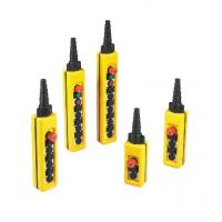 NXAC Push Button Crane Components Pendent Controls Double Speed IP65 Manufactures