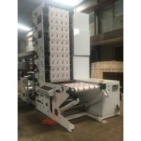 500 Automatic label flexo printing machine with die cutting / lamination/vanish/slitting /cold stamping function price Manufactures