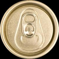 Black SOT RPT Aluminum Can Lids Carving Carbonated Drink Beverage With Pull Tab Manufactures