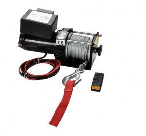 China Remote control 12V DC 3000 lb ATV Electric Winch / Winches on sale
