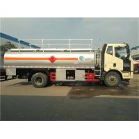 CA1115P 15000 Liters Diesel Tanker Truck With Electrically Hydraulic System Manufactures