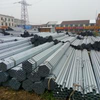 Diameter 12 - 508mm Pre - Galvanized Steel Pipe / Round GI Pipe ASTM A53 Hot Dipped Steel Pipe Manufactures