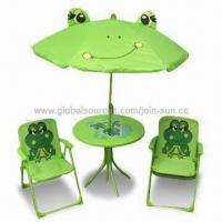 Garden Set, Children's Garden Set with Umbrella, Chair and Table Manufactures