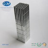 Power Rare Earth Permanent Neodymium Cylinder Magnets N35 ROHS Certification Manufactures