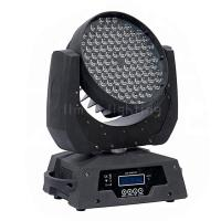 China 108x3w RGBW Color Mixing Rainbow Effects DMX LED Moving Head Wash Light on sale