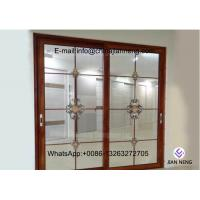 Excellent Impermeability Aluminum Frame Sliding Windows Damp Proof For Houses Manufactures
