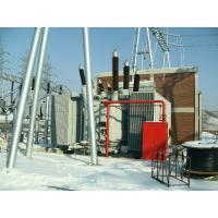 132kV 12.5MVA Single Phase Power Transformer Oil Immersed , Core Type Manufactures