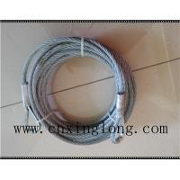Sell  wire rope sling with thimble in both ends Manufactures