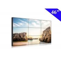 46 inch video wall full hd full color 500nits 3x3 lcd display narrow bezel 10mm Manufactures