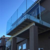 Balustrade fittings glass balustrade with standoff bolt fixing balustrade Manufactures