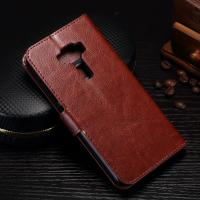 Protective Cell Phone Leather Wallet Case For Zenfone 3 Magnetic Close Manufactures