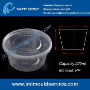 China 220ml disposable plastic fruit bowl mould manufacturer on sale