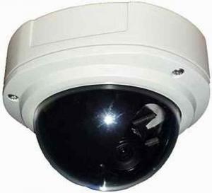 China High Speed Dome Night Vision Surveillance Camera 540 TVL White / Black on sale