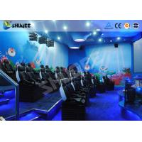 9 Seats 5D Cinema System Equipment Motion Chair With Many Special Effects Manufactures