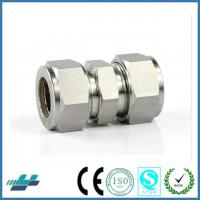 China union connector stainless steel compression fittings hot male tube fittings on sale