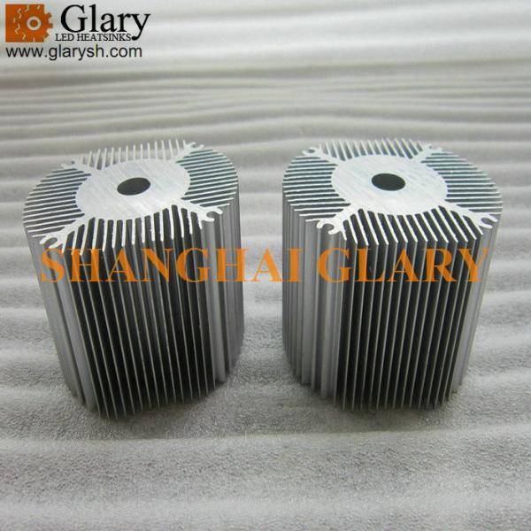 Glr Hs 787 72mm Aluminum Round Extrusion Heatsink Led