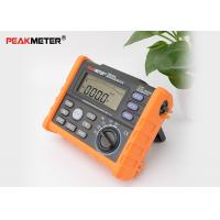 Auto Power Off Earth Ground Resistance Tester With Data Logging And Backlight Manufactures