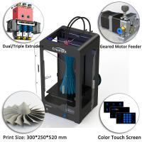 Dx Plus Creatbot 3D Printer 300x250x520 Mm Forming Size With High Precision Manufactures