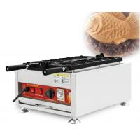 24kg Net Weight Food Industry Machines Small Taiyaki Fish Waffle Maker Manufactures