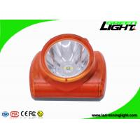 Explosion Proof Miners Lights For Hard Hats , Lightweight Led Miners Cap Lamp 13000 Lux Manufactures