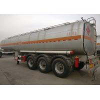 Buy cheap 56CBM 12 Tires Heavy Duty Semi Oil Tanker Trailer / Fuel Tanker Truck from wholesalers