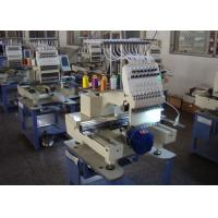 High Speed Automatic Embroidery Machine , Multi - Languages 1 Head Embroidery Machine New Manufactures